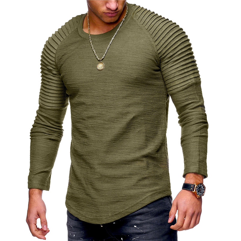 2018-New-Fashion-Men-s-Round-Neck-Slim-Solid-Color-Long-sleeved-T-shirt-Striped-Fold-4.jpg
